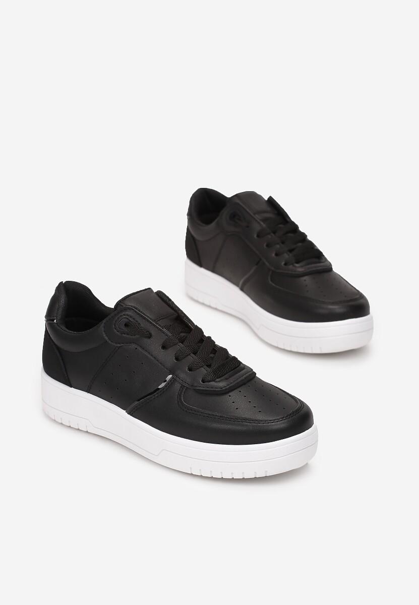 Czarne Sneakersy Thessaros