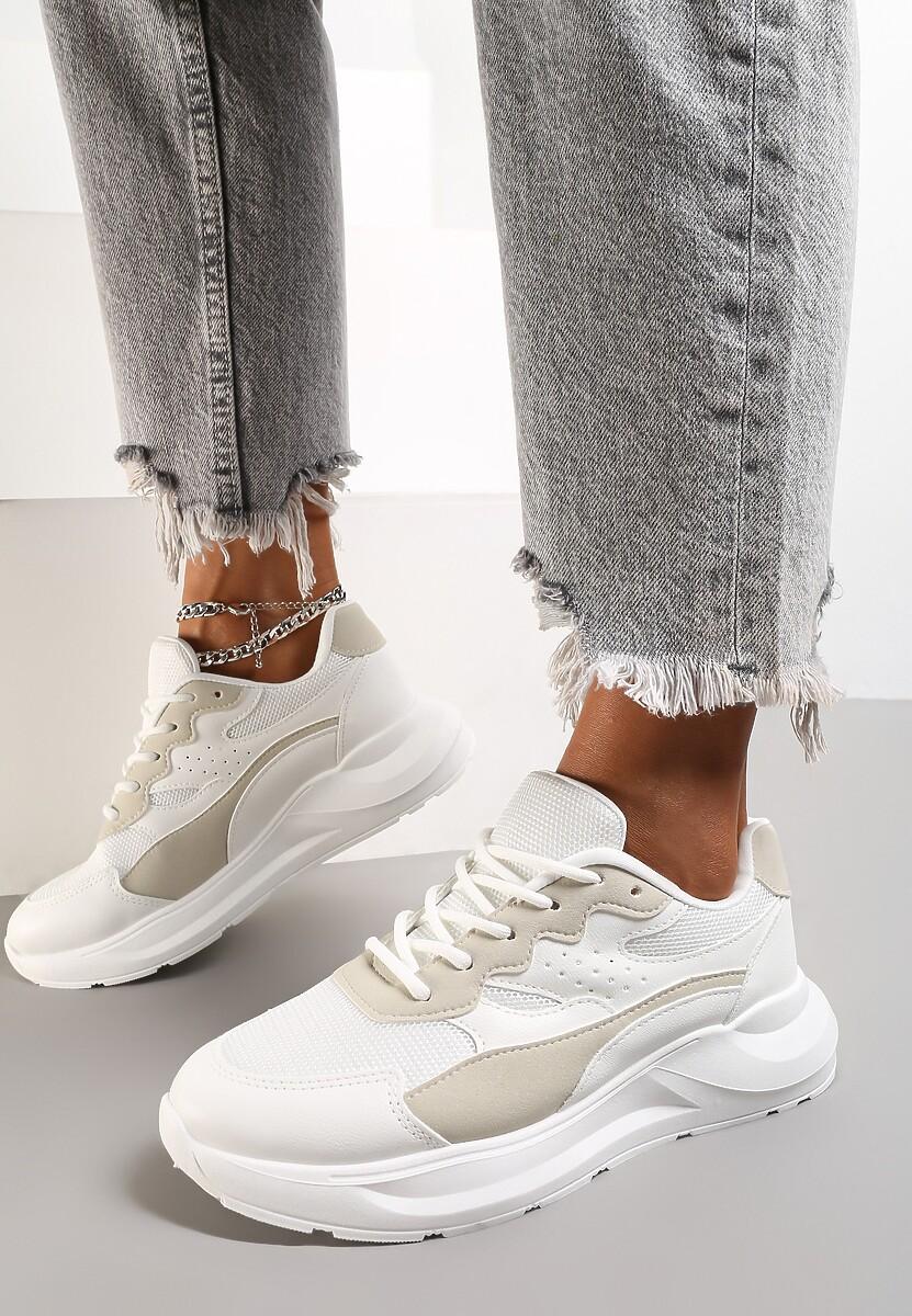 Białe Sneakersy Delaguna