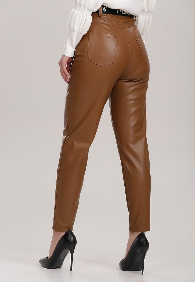 Brązowe Spodnie Vivily