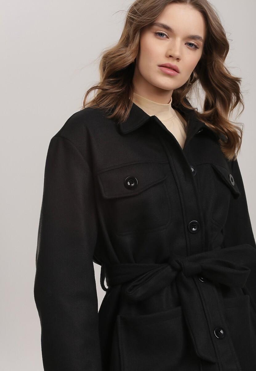 Czarny Płaszcz Lagurin