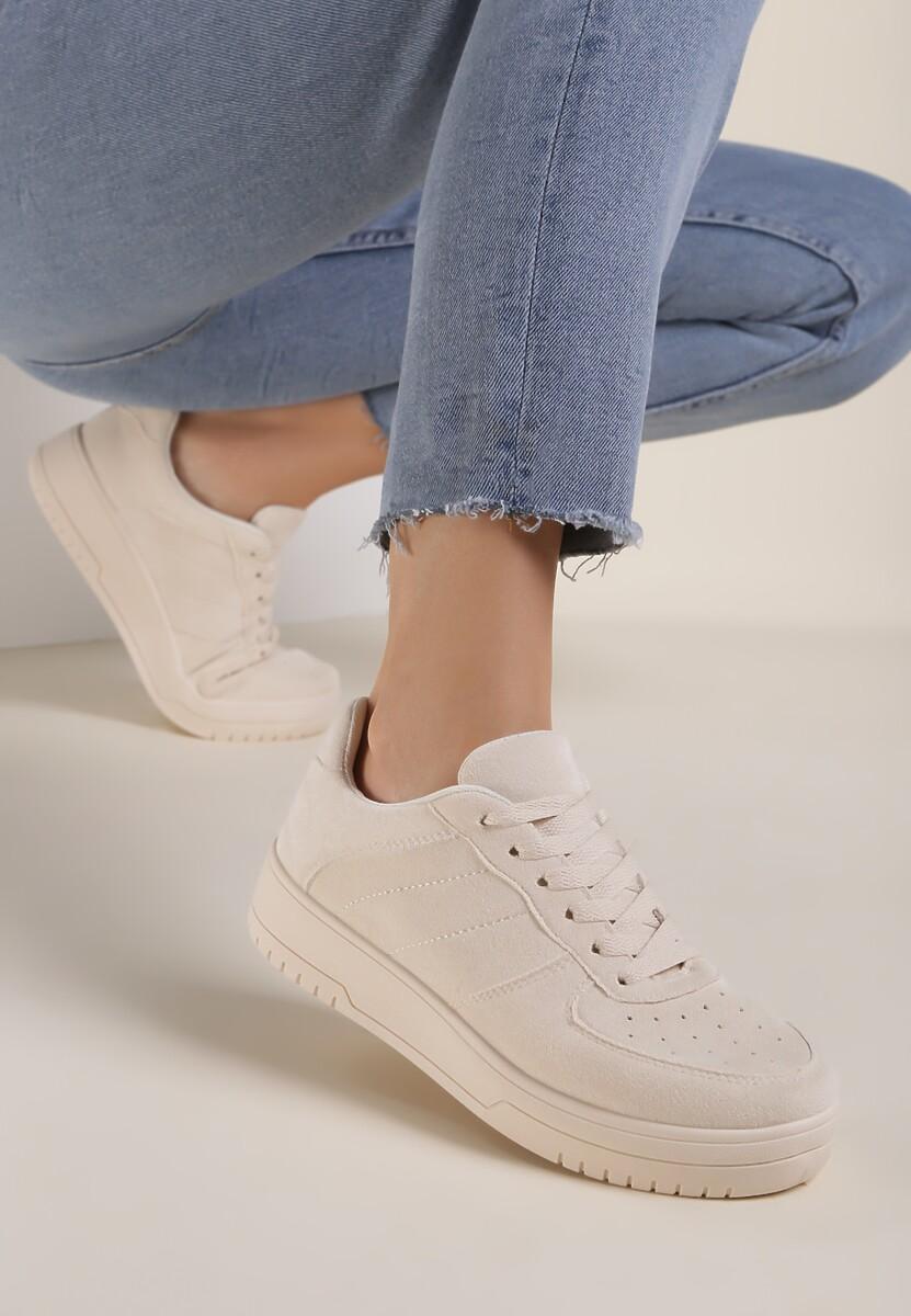Beżowe Sneakersy Cive