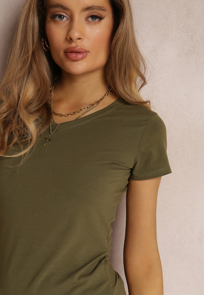 Khaki T-shirt Diamala