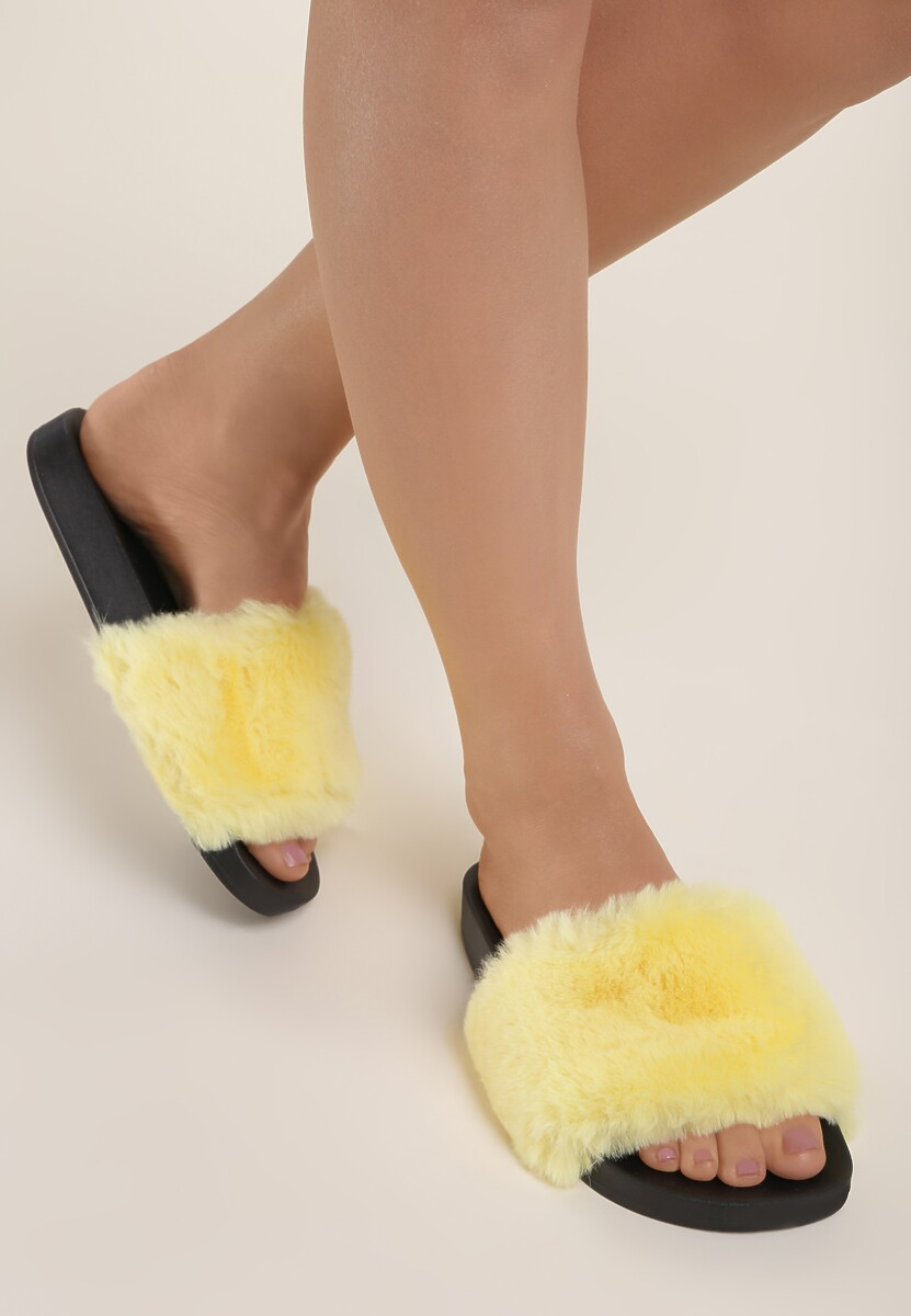 Żółte Klapki Aphitti