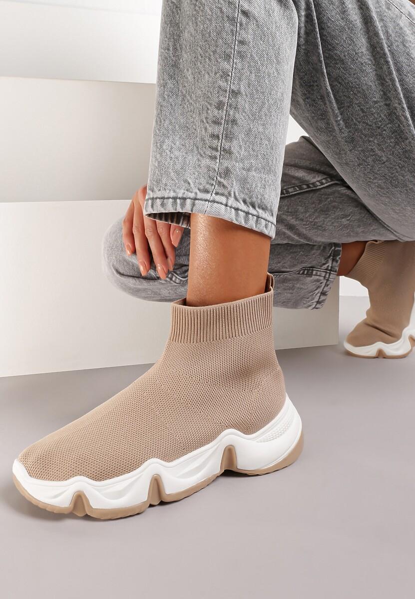 Beżowe Sneakersy Vasilisa