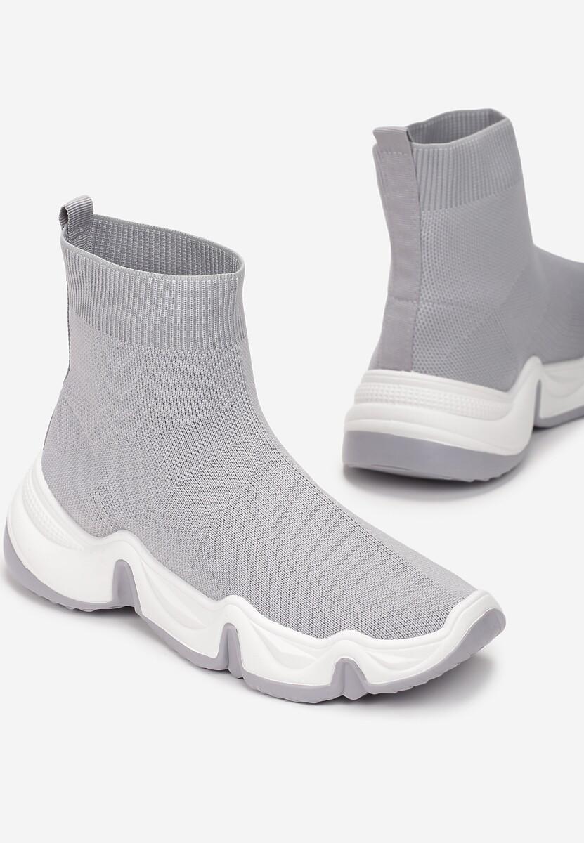 Szare Sneakersy Vasilisa