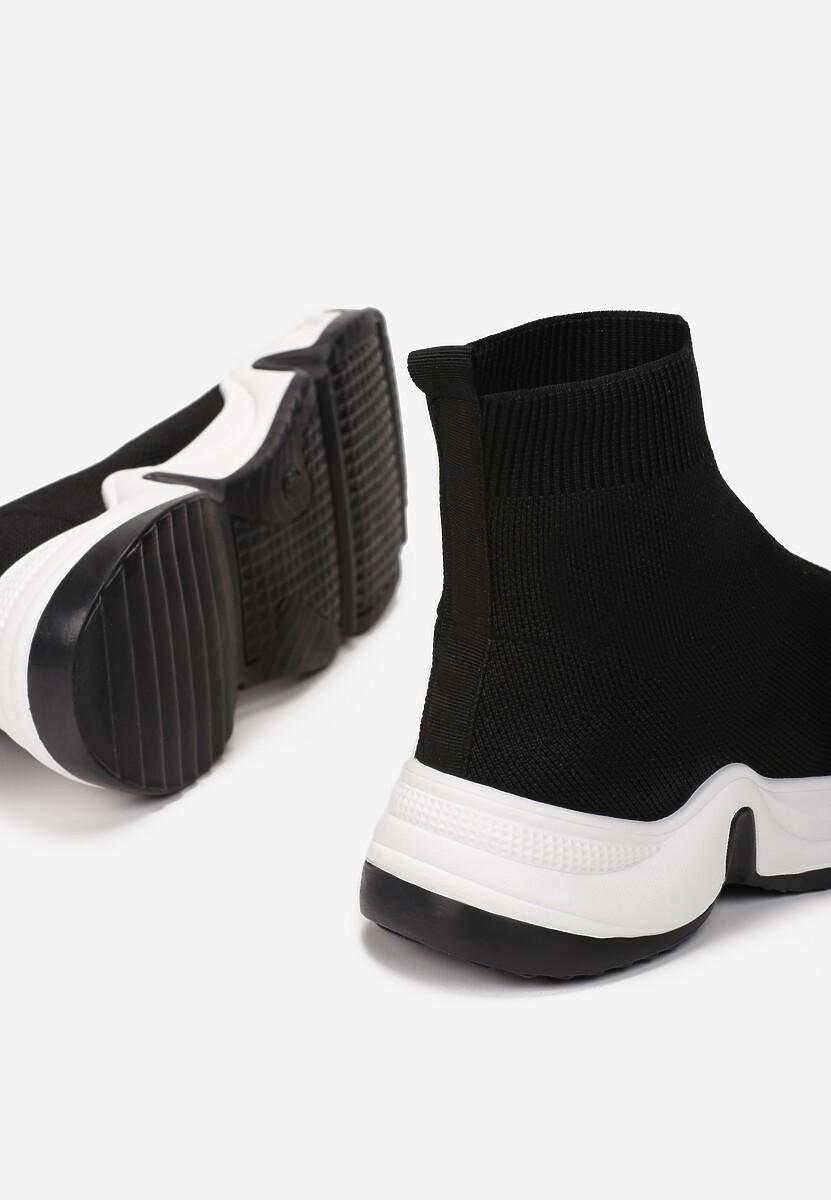 Czarne Sneakersy Vasilisa