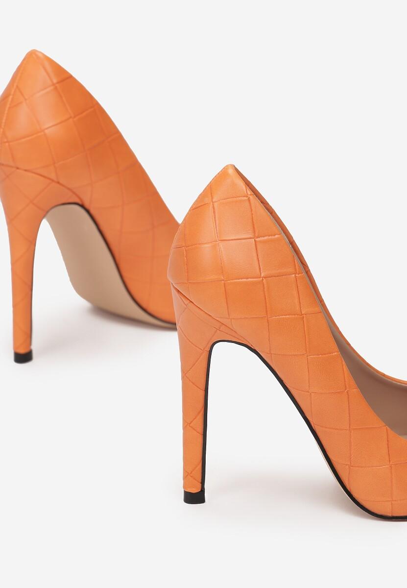 Pomarańczowe Szpilki Thelalise