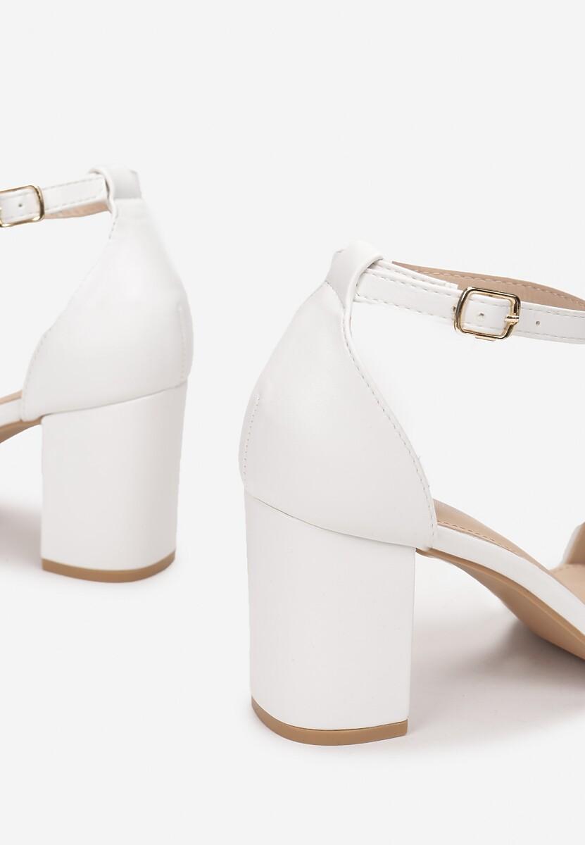 Białe Sandały Thronypso