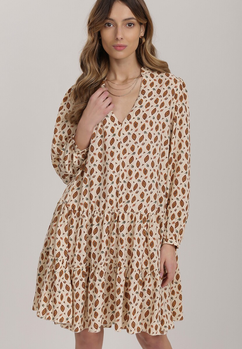 Kremowa Sukienka Nixephila