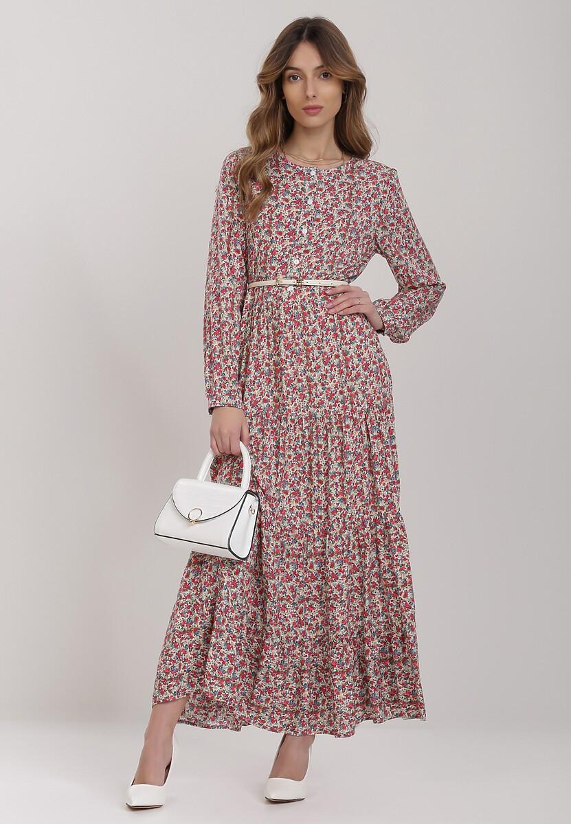Różowa Sukienka Rhethelsa