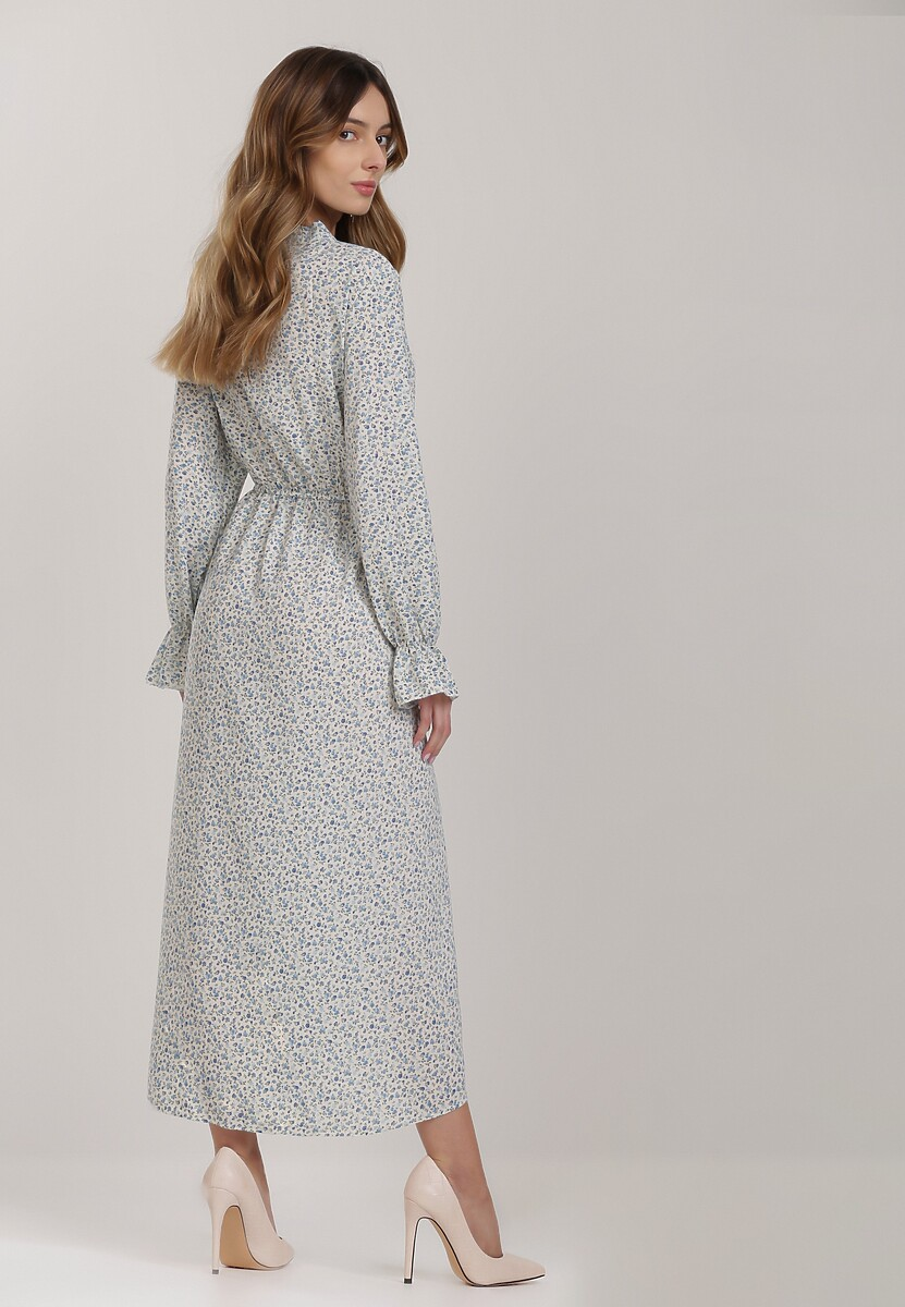 Niebieska Sukienka Crethaeia