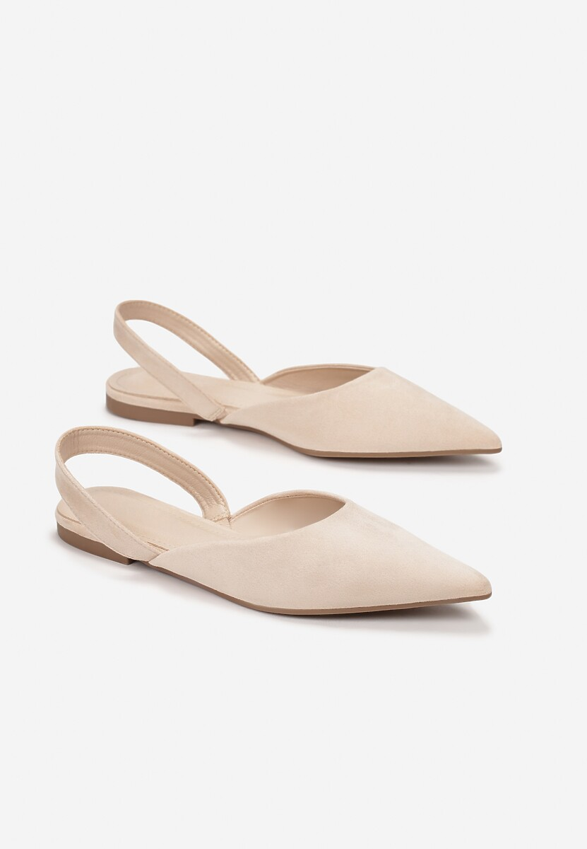 Beżowe Sandały Bathais