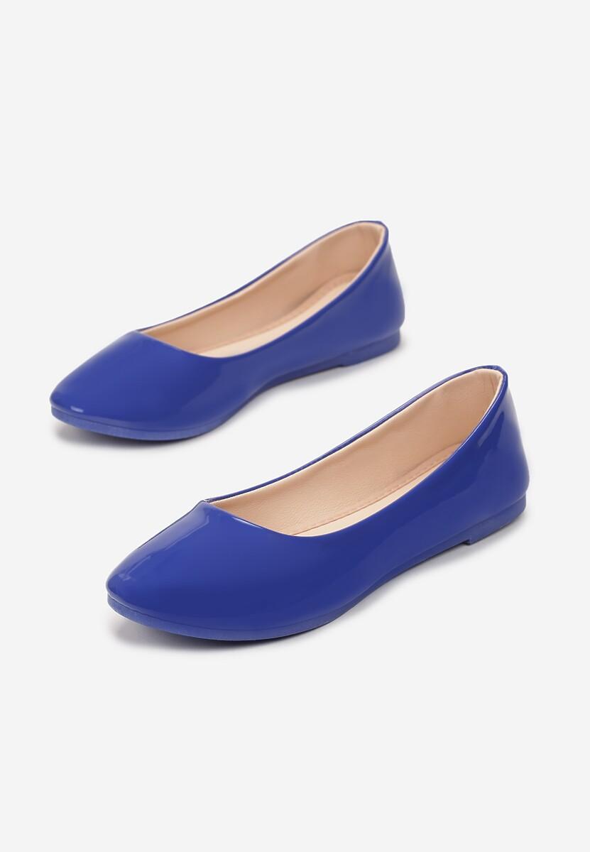 Niebieskie Balerinki Nysaxise