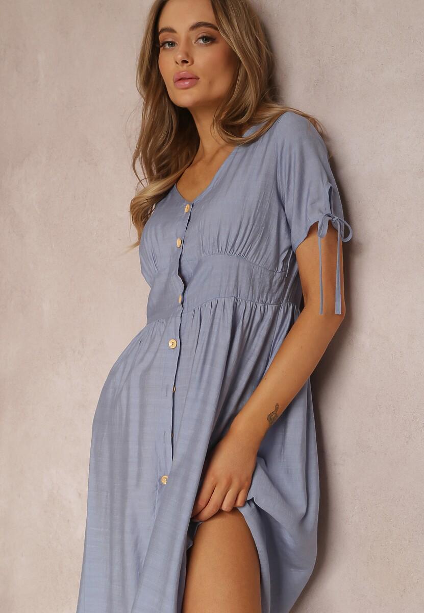 Niebieska Sukienka Prisertes