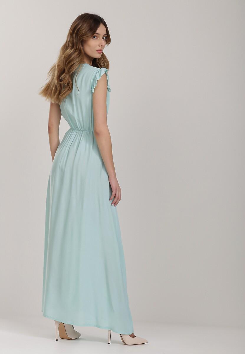 Miętowa Sukienka Thronacia