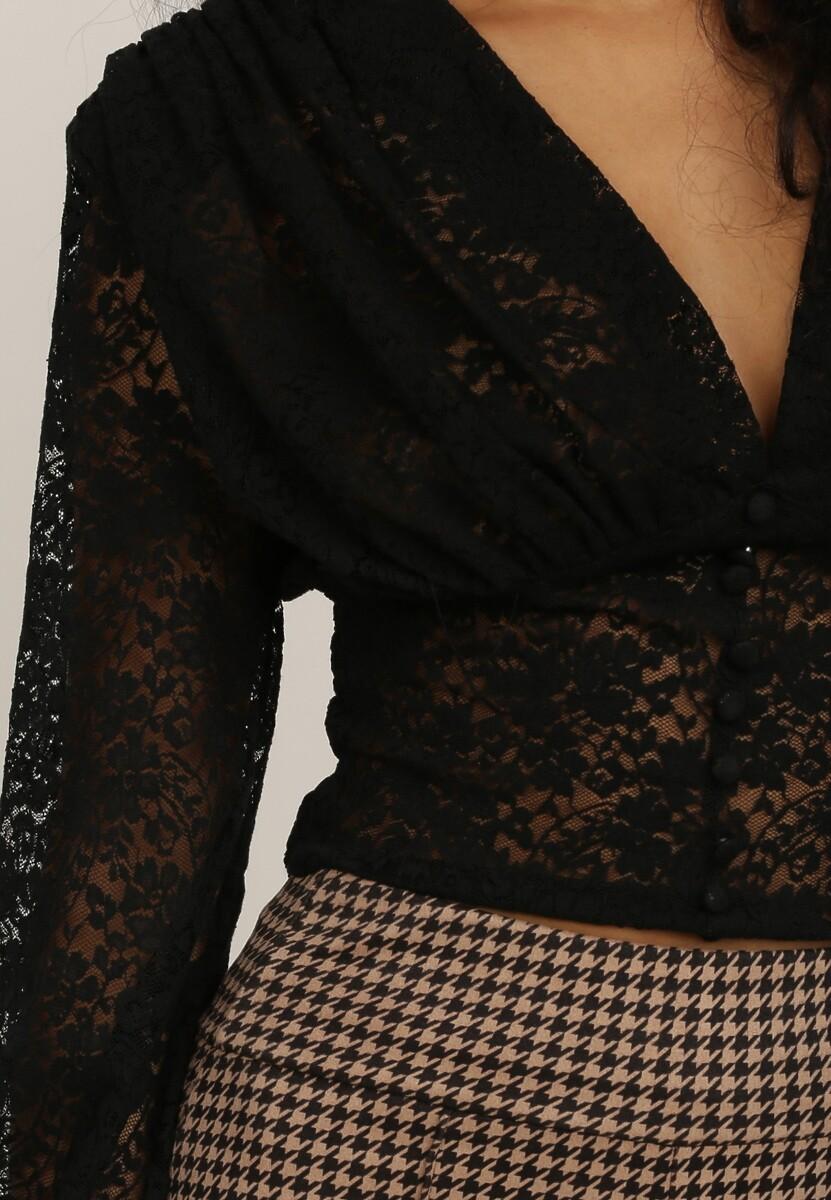 Czarna Bluzka Thalethia