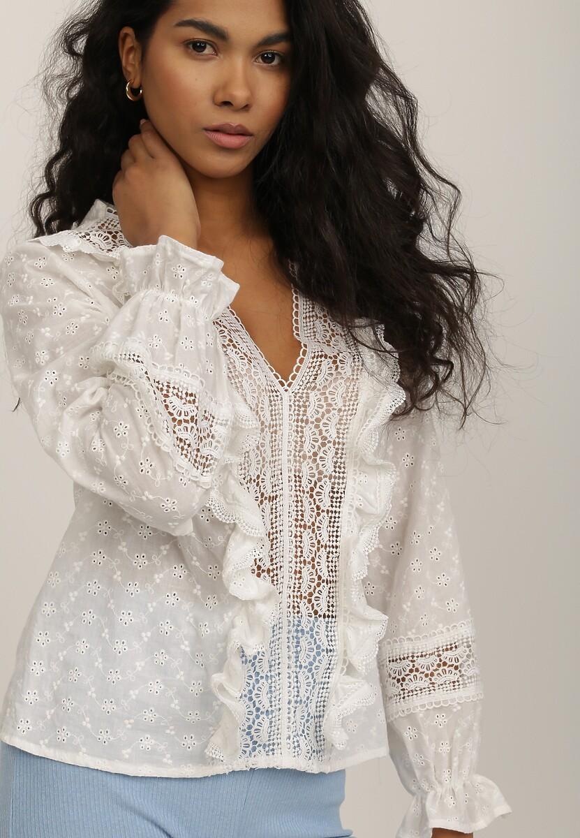 Biała Bluzka Theanoesa