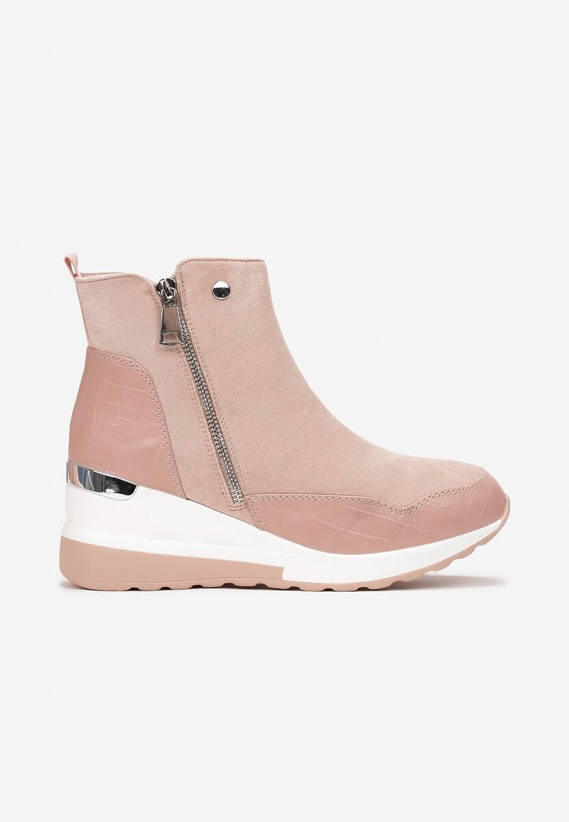 Różowe Sneakersy Yserith