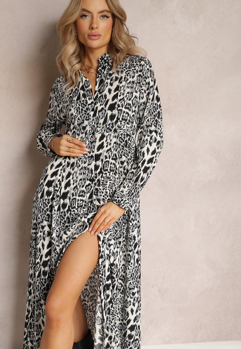 Granatowa Sukienka Undihaneh