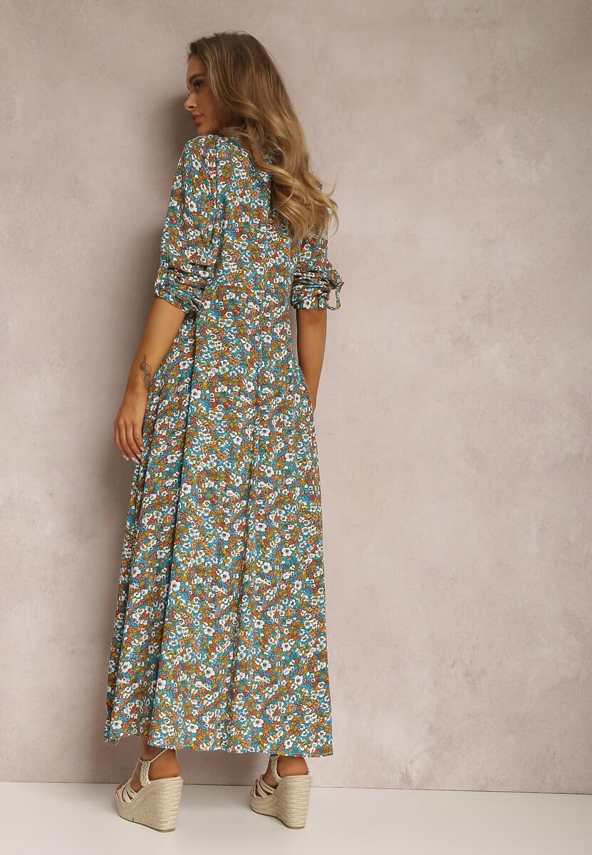 Niebieska Sukienka Kelathyia