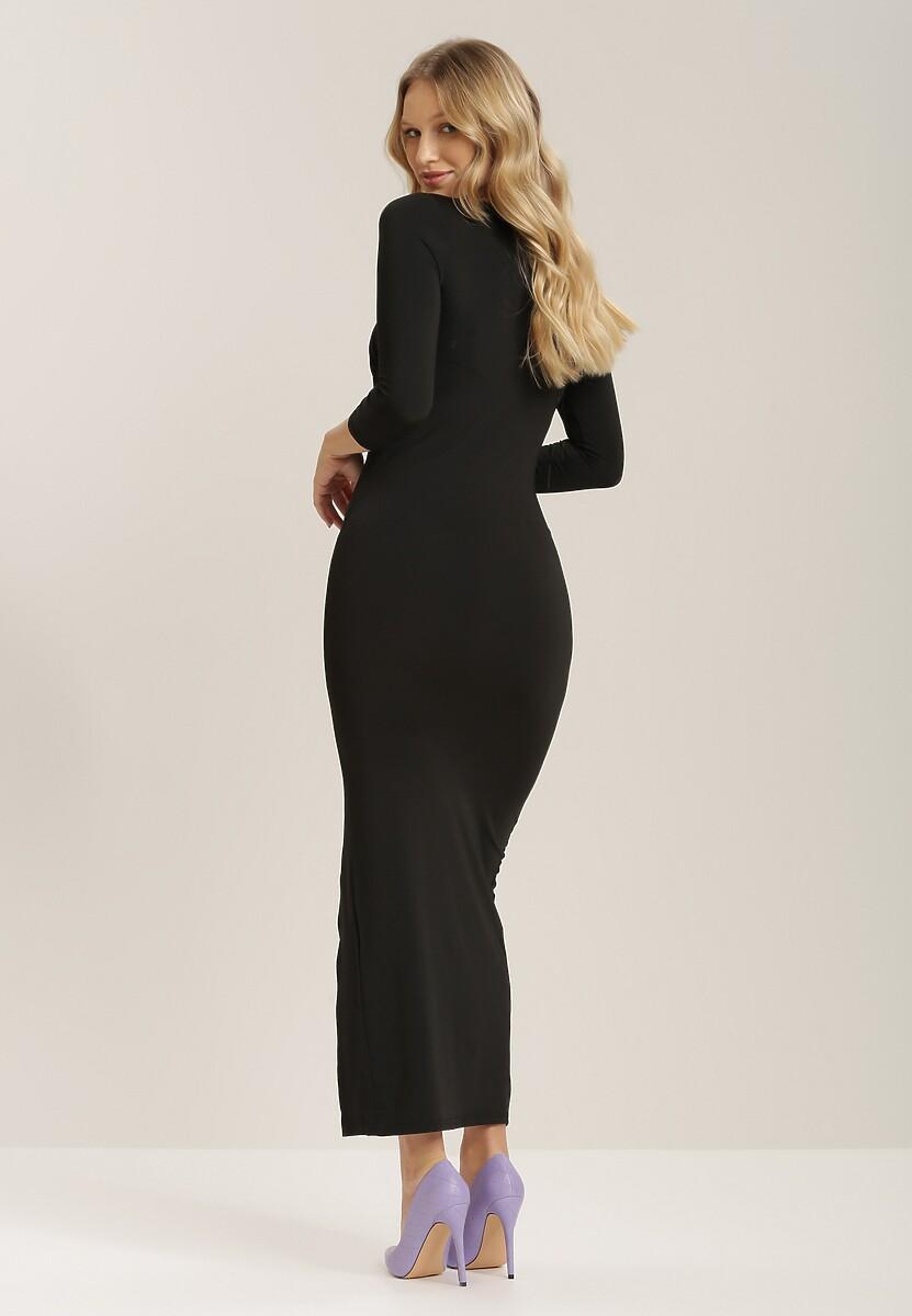 Czarna Sukienka Acastathis