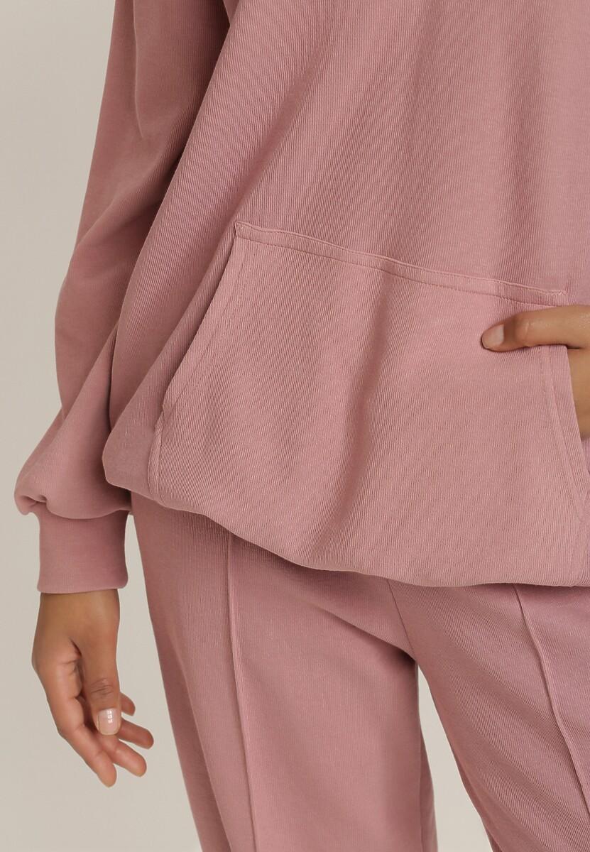 Ciemnoróżowa Bluza Coraciane