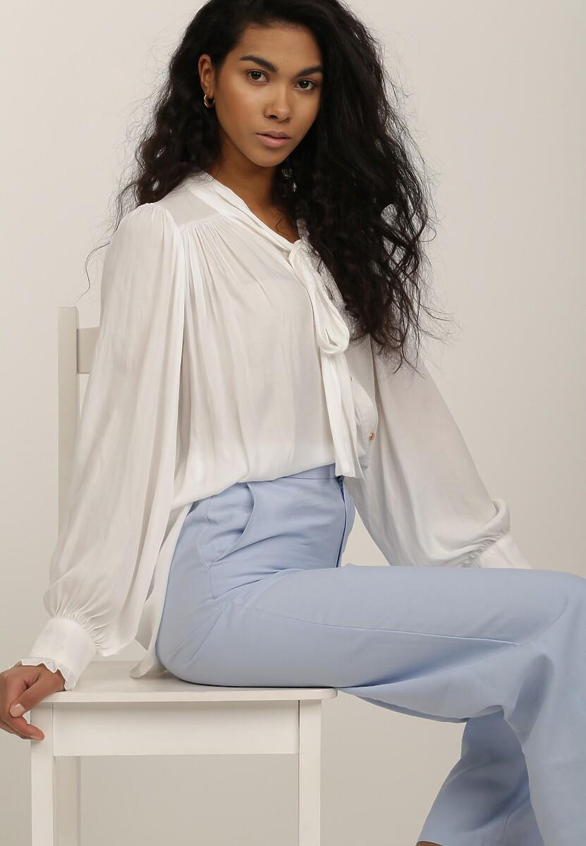 Biała Bluzka Azasura