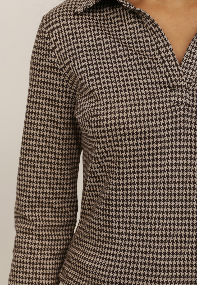 Beżowa Bluzka Crialato