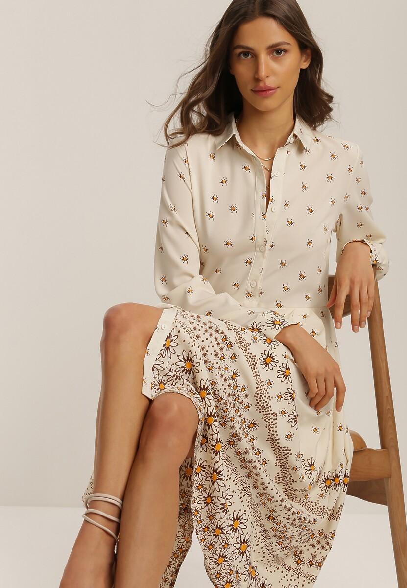 Kremowa Sukienka Fyonae