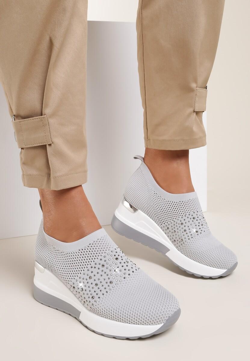 Szare Sneakersy Phantozilla