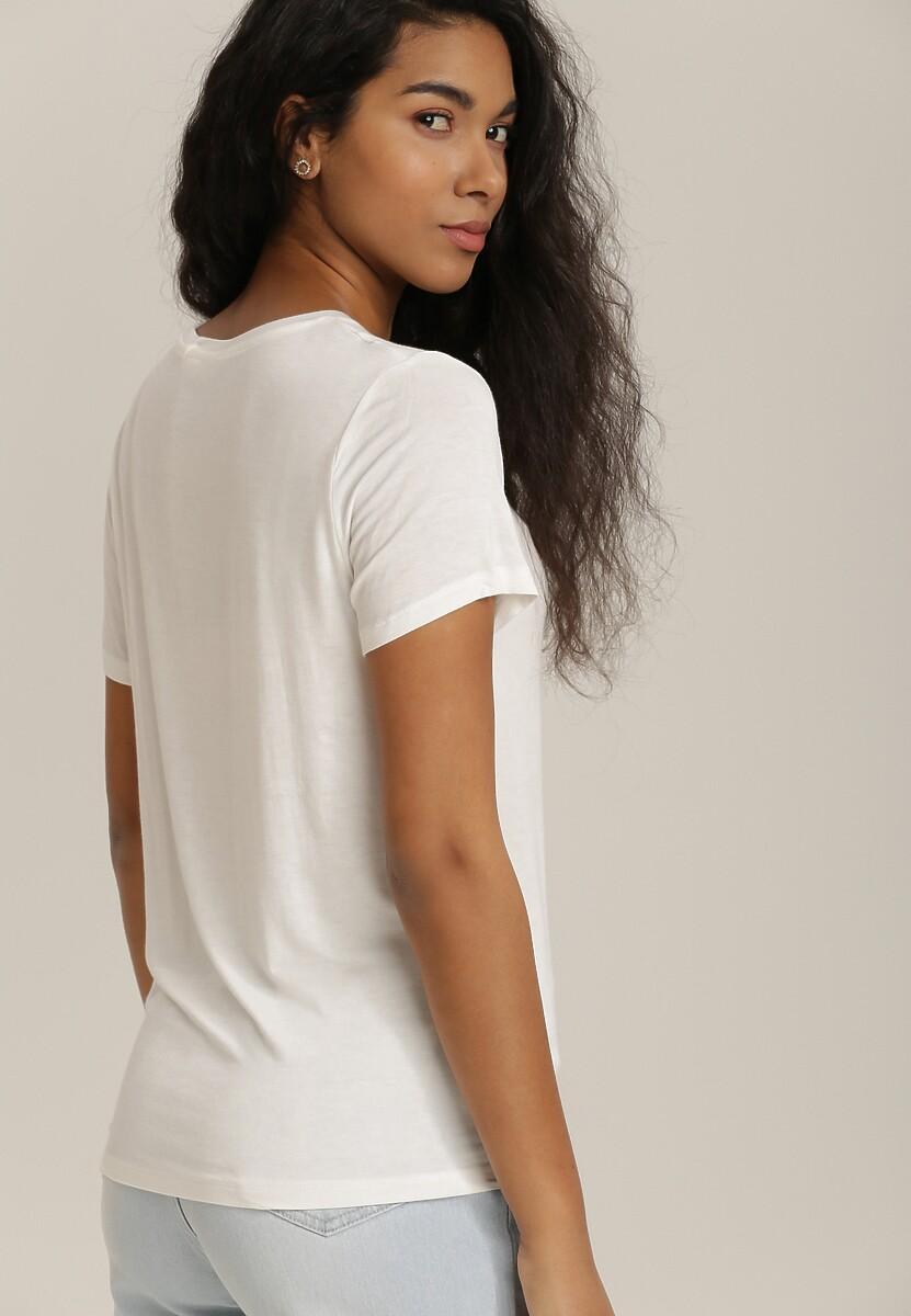 Biały T-shirt Hoci