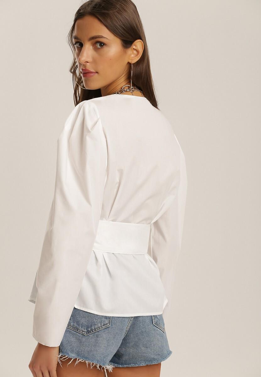 Biała Bluzka Jynna