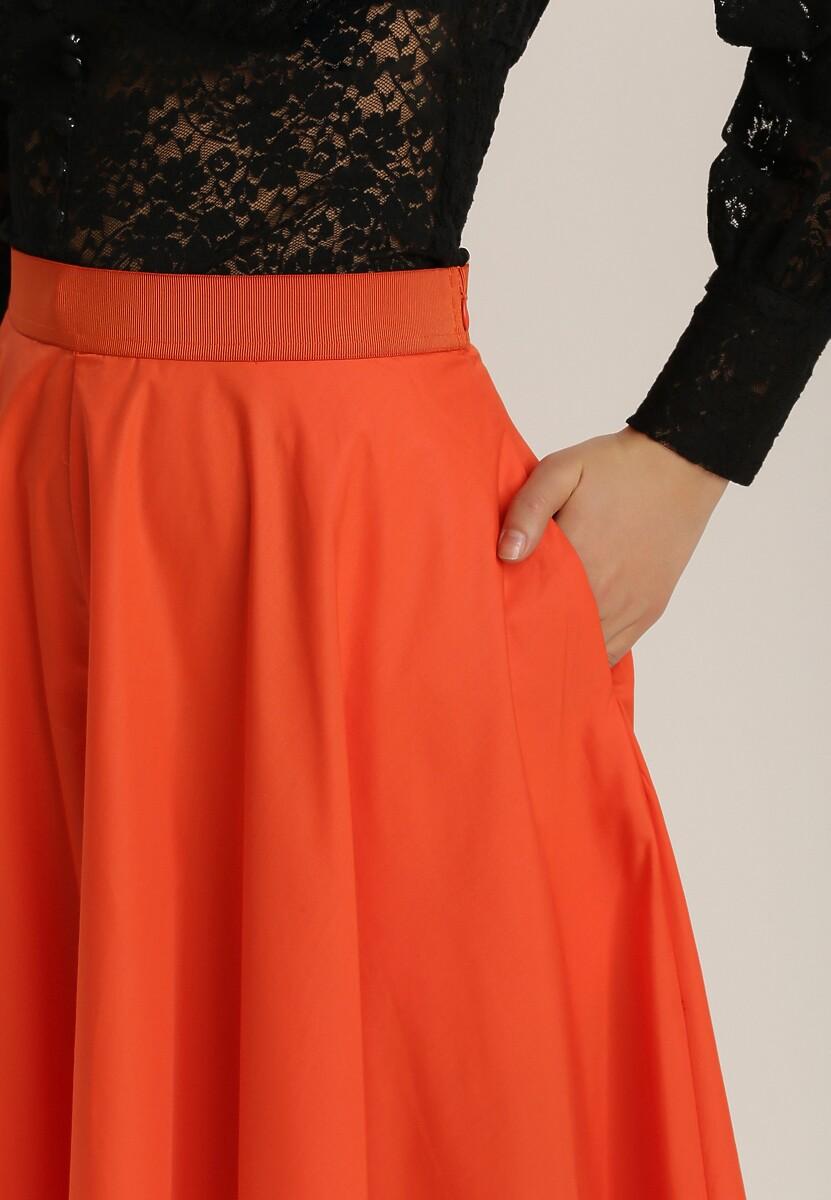 Pomarańczowe Spodnie Qyroris