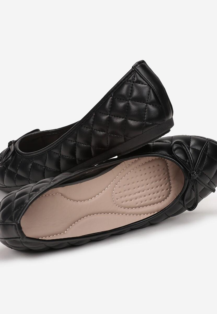 Czarne Balerinki Cororis