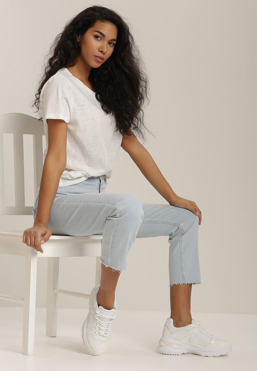Biały T-shirt Sislerro