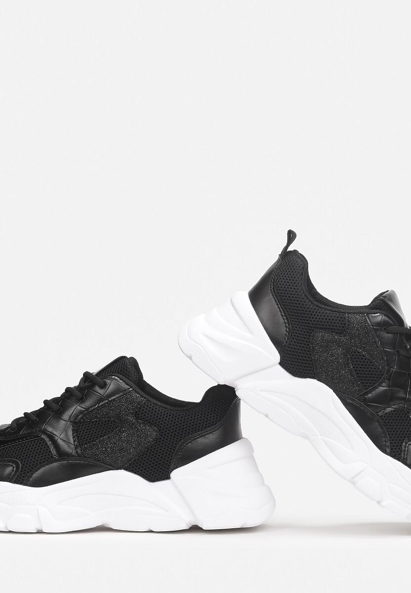 Czarne Sneakersy Cithrel