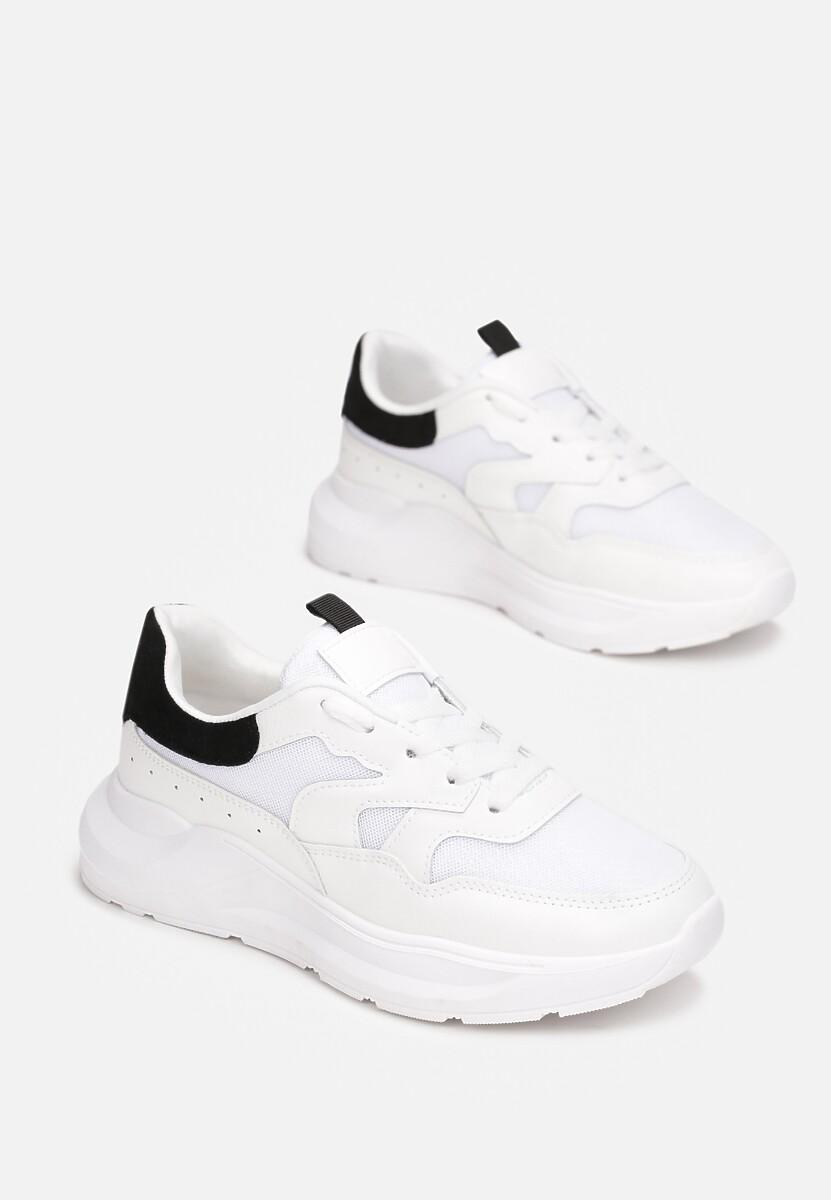Biało-Czarne Sneakersy Lythienne
