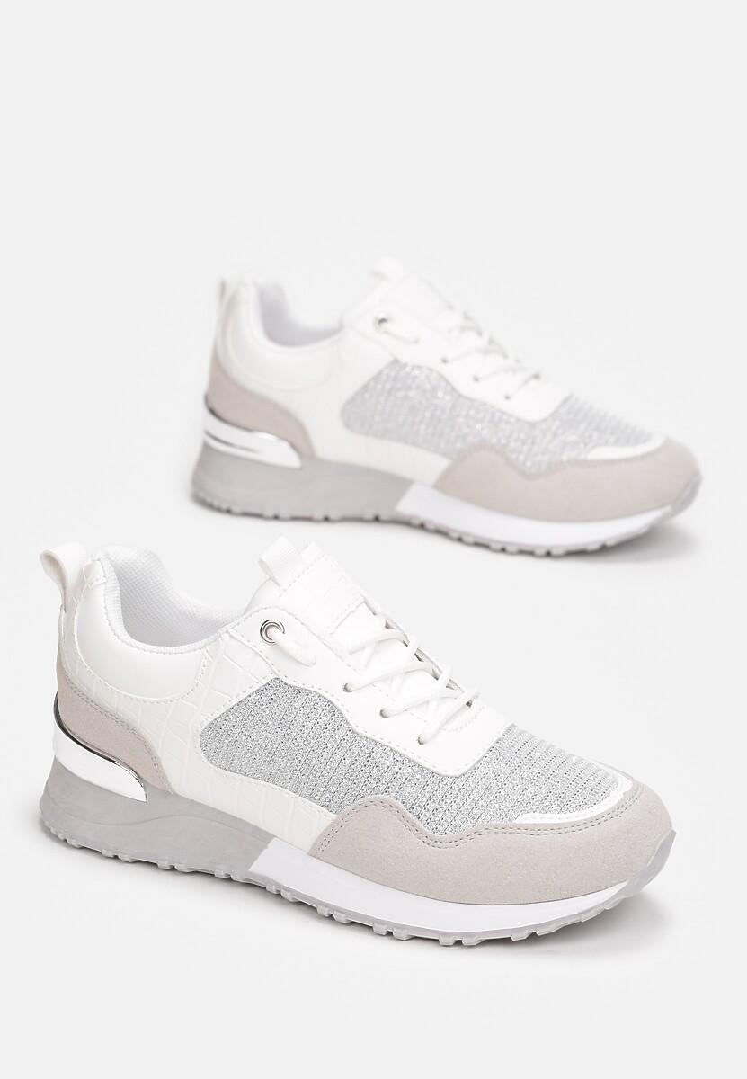 Białe Sneakersy Malonne