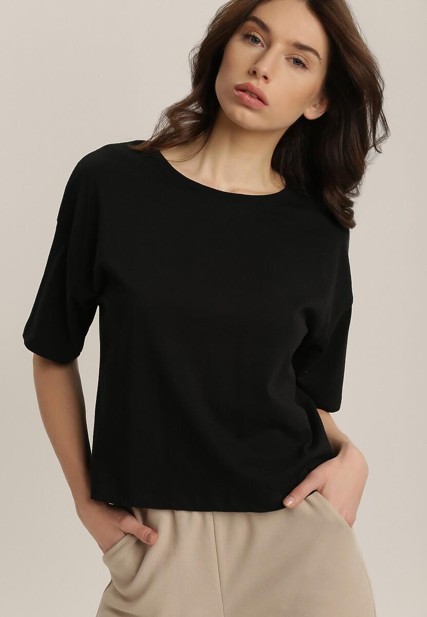 Czarny T-shirt Perfiel