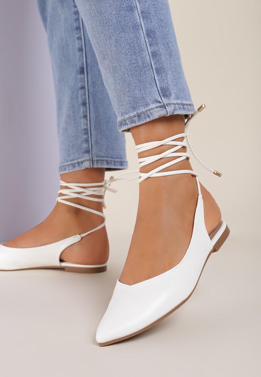 Białe Sandały Sariel