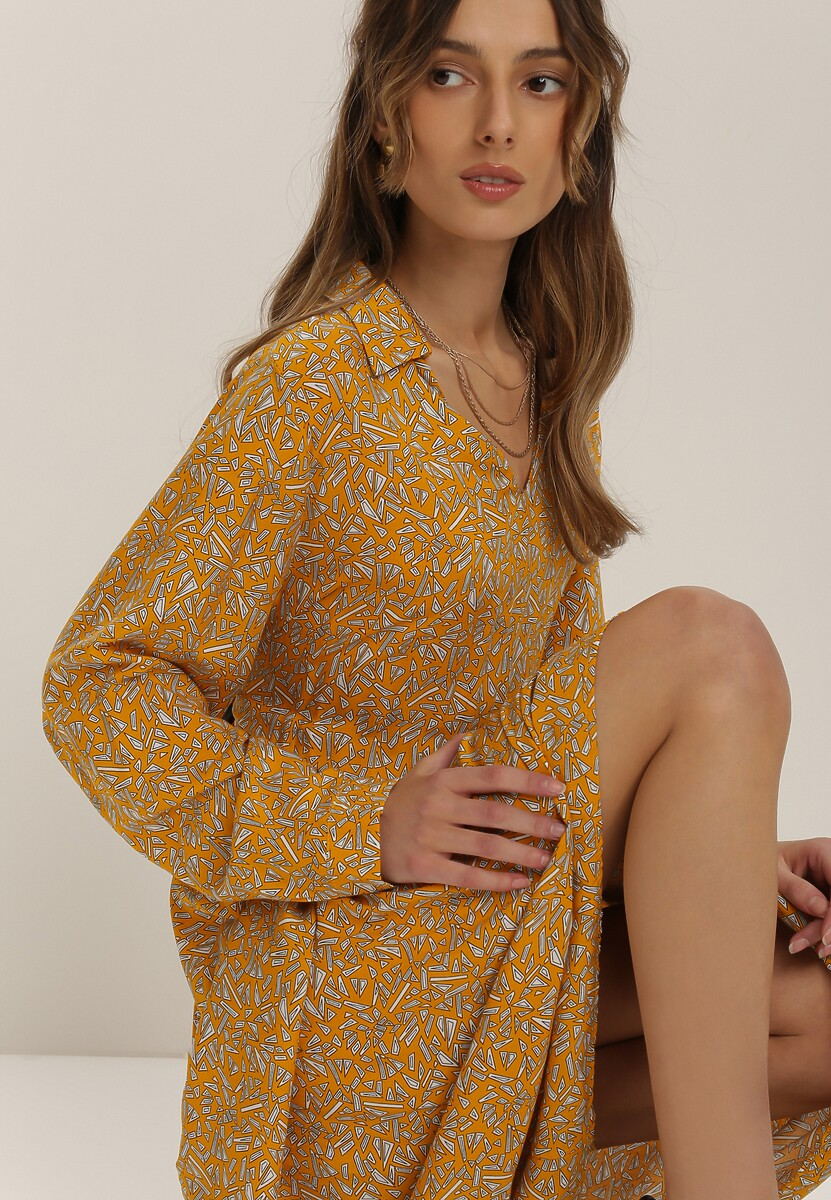 Żółta Sukienka Synagenia