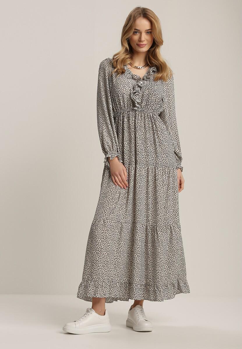 Biała Sukienka Orimei