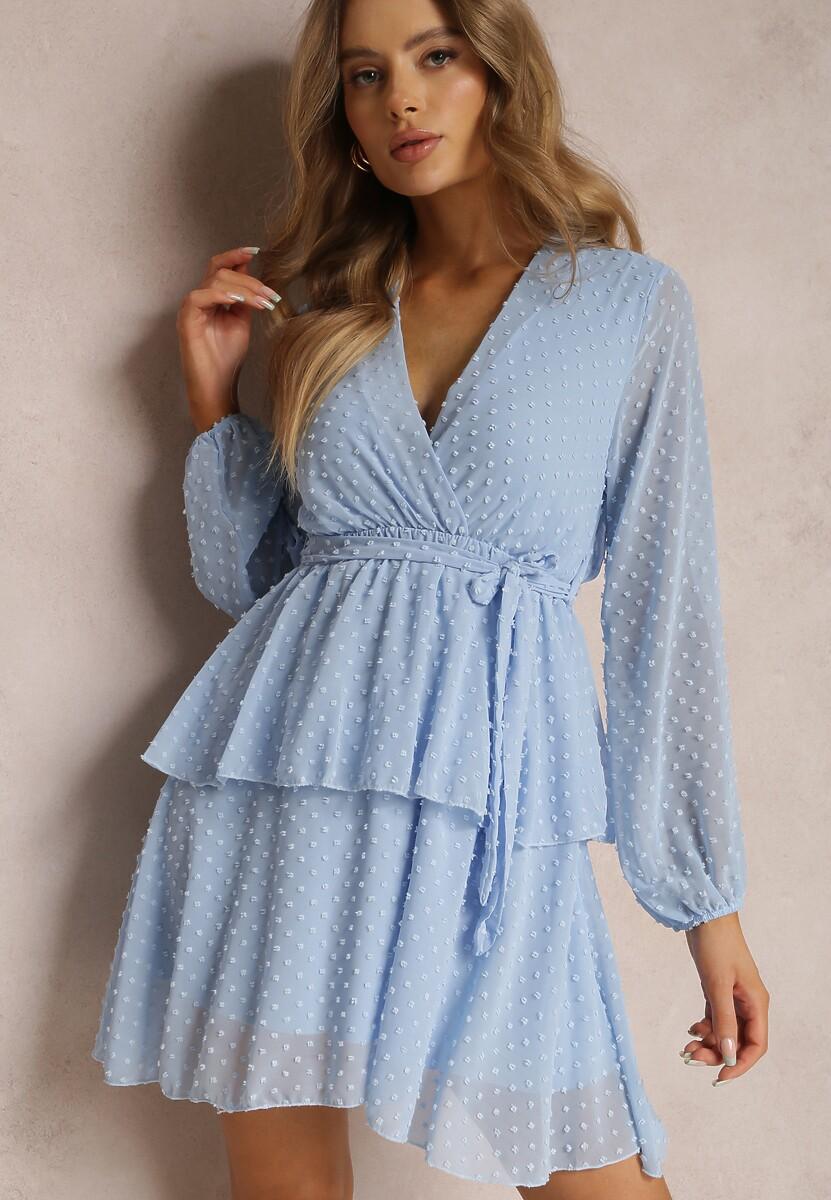 Jasnoniebieska Sukienka Shadebinder
