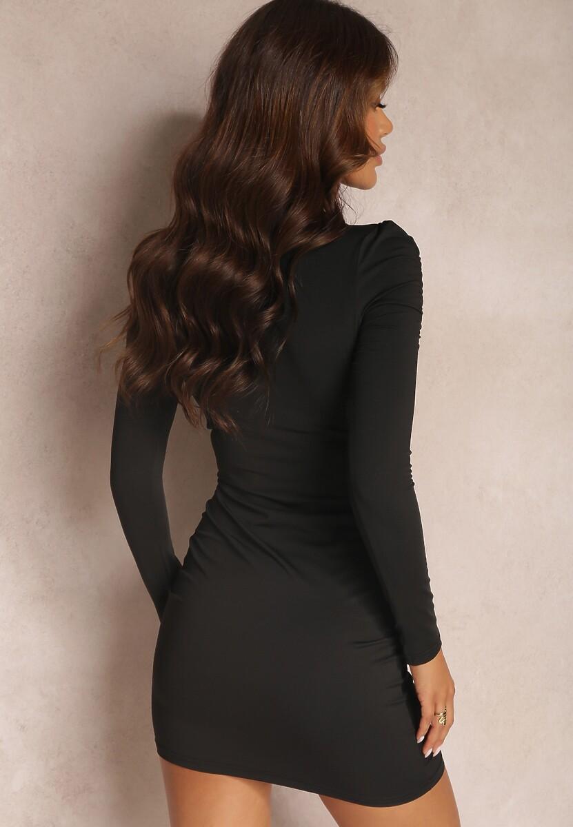 Czarna Sukienka Amaguna