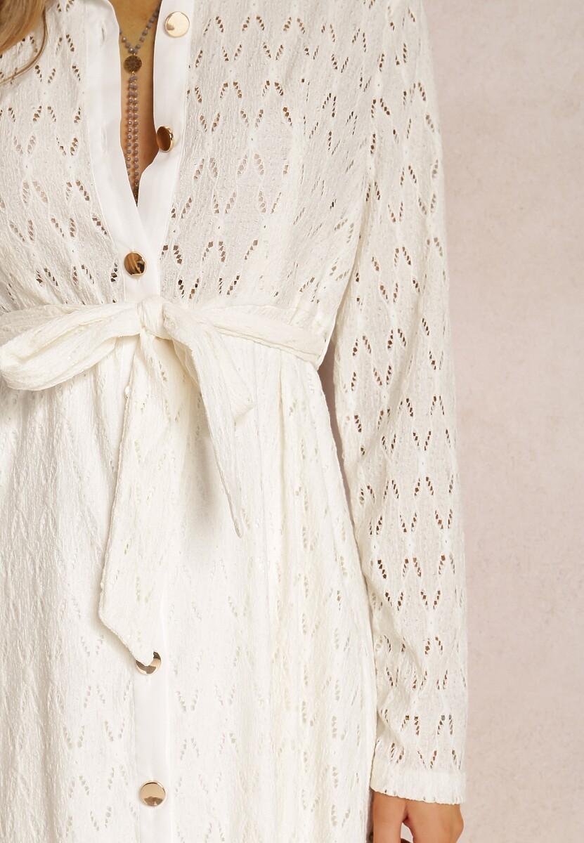 Kremowa Sukienka Loraila
