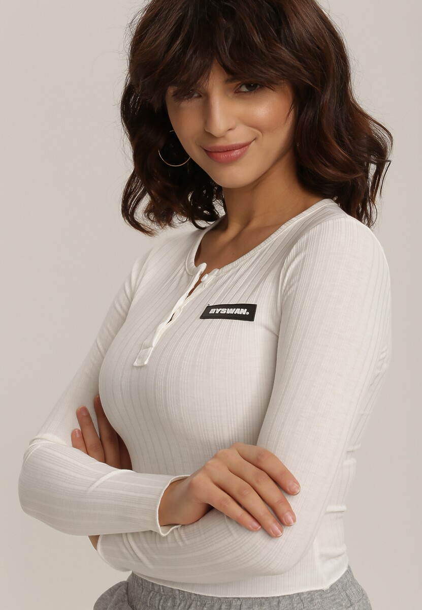 Biała Bluzka Orinsyss