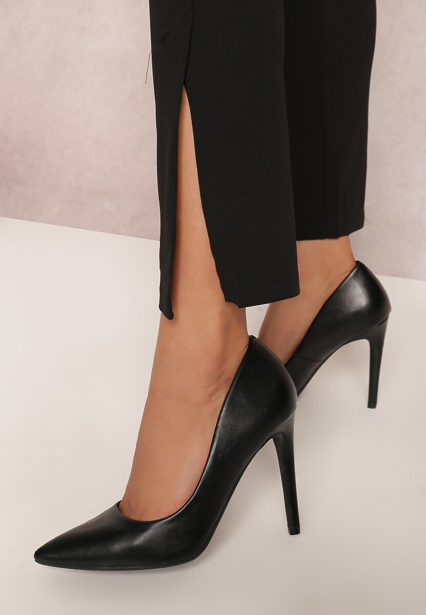 Czarne Spodnie Corrane