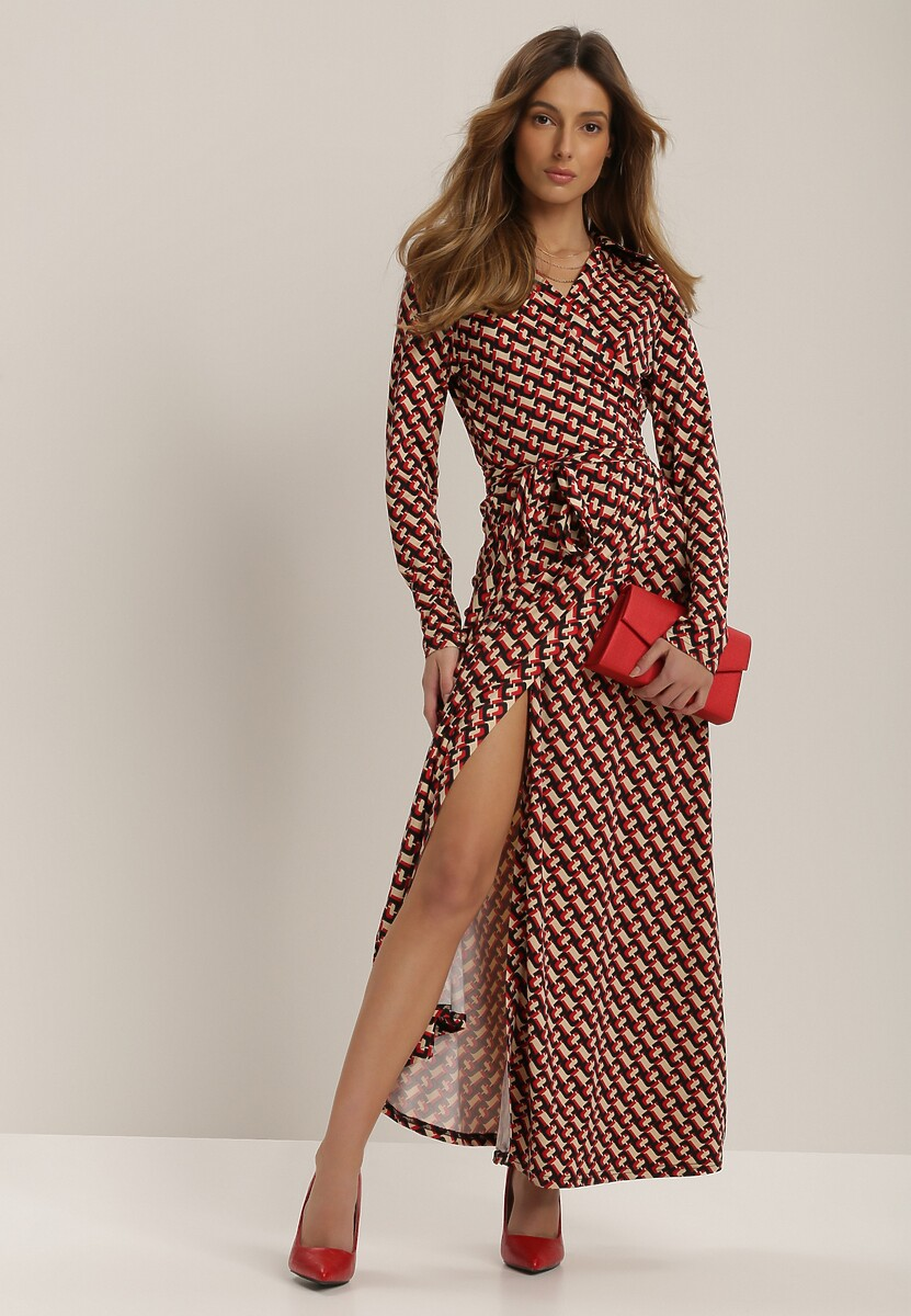 Beżowa Sukienka Danagoria