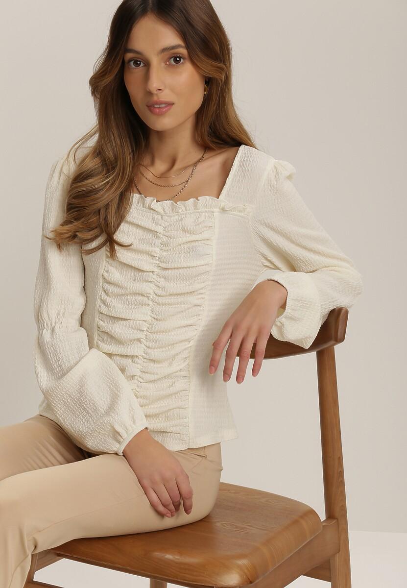 Kremowa Bluzka Alcilyse