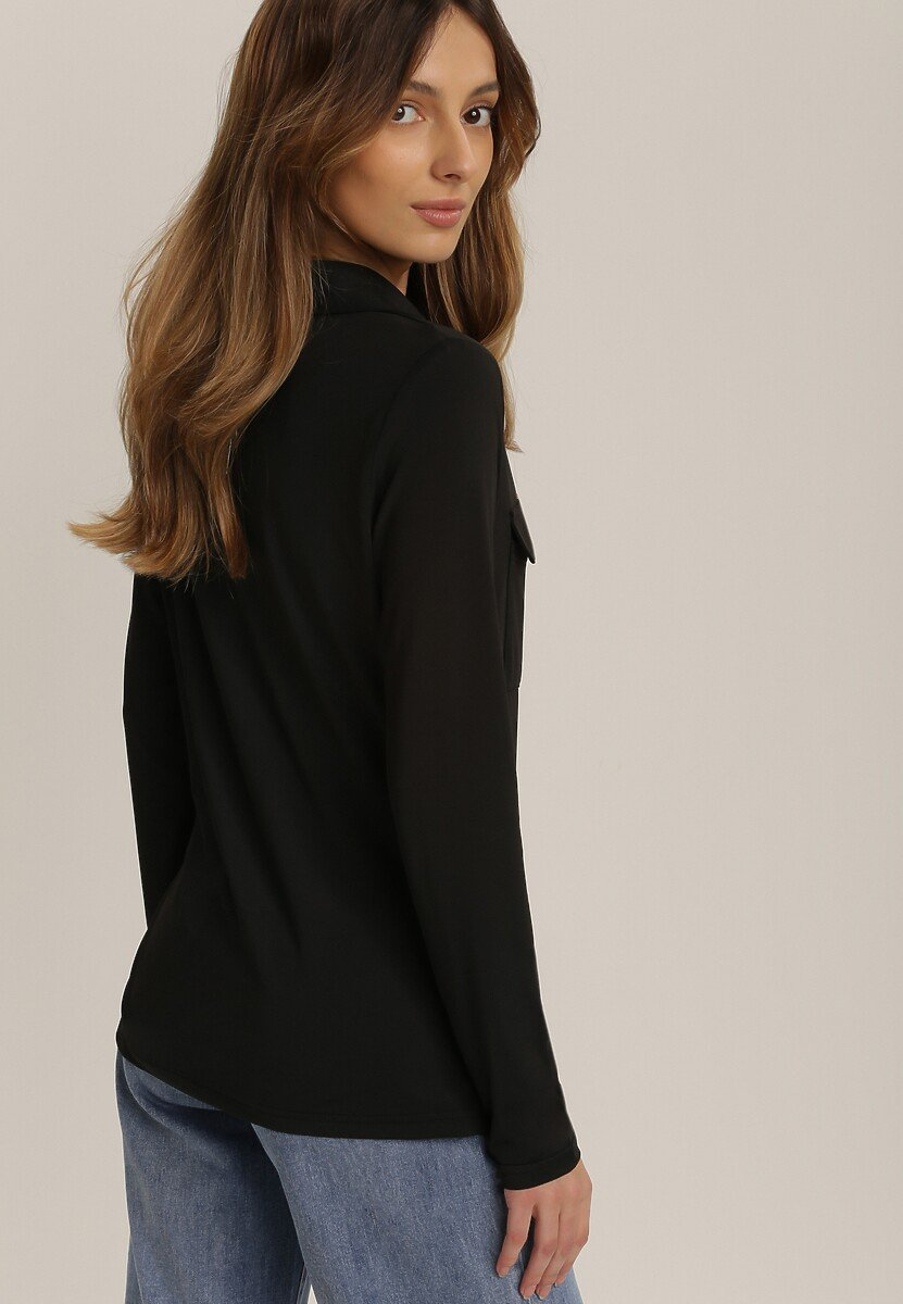 Czarna Koszula Aquivien